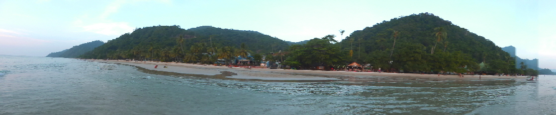 Koh Chang: White Sand Beach